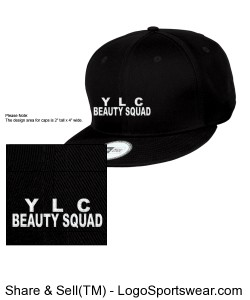 YLC BEAUTY SQUAD SNAP BACKS Design Zoom