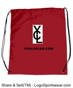 YLC Sack in RED Design Zoom
