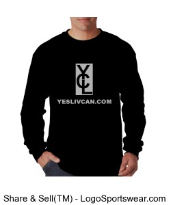 YLC Long Sleeve Mens Shirt Design Zoom