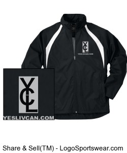 YLC Mens Wind-Breaker Jackets Design Zoom